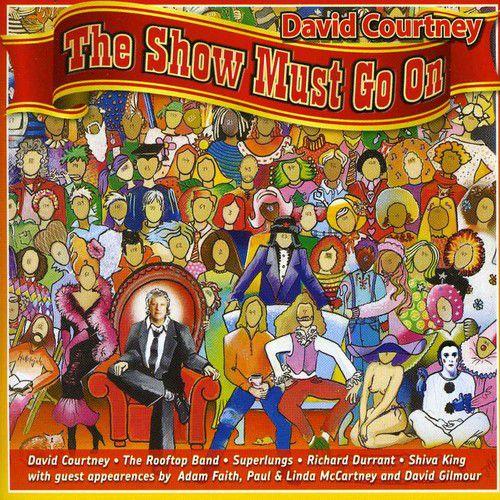 David Courtney - Show Must Go On - Cd Importado  - Billbox Records