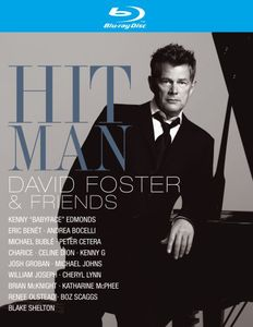 David Foster - Hit Man - Blu ray Importado  - Billbox Records