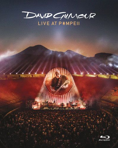 David Gilmour -  Live At Pompeii - 2 Cds +Blu Rays Edição Limidta - 4Pçs  Importado  - Billbox Records