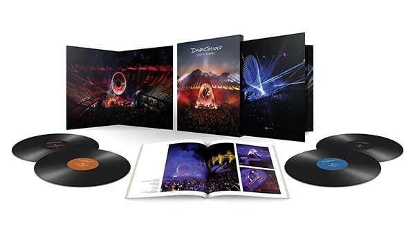 David Gilmour/ Live At Pompeii - Edição Limidta  4Pçs - Lp Importado  - Billbox Records