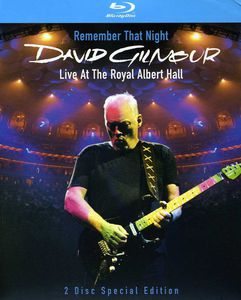 David Gilmour - Remember That Night: Live at the Royal Albert Hall - Blu Ray Importado  - Billbox Records