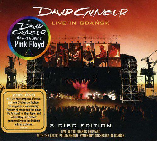 David Gilmour Live in Gdansk - 2 Cds+Dvd Importados  - Billbox Records