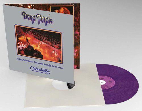 Deep Purple - Made in Europe - Edição Limitada Purple Vinyl -Lp Importado  - Billbox Records