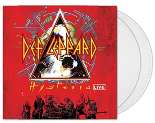Def Leppard Hysteria At The O2  Live (Limited Edition, Clear Vinyl) - 2 Lp Importados  - Billbox Records