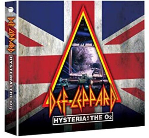 Def Leppard Hysteria At The O2 - Dvd + 2 Cds Importados  - Billbox Records