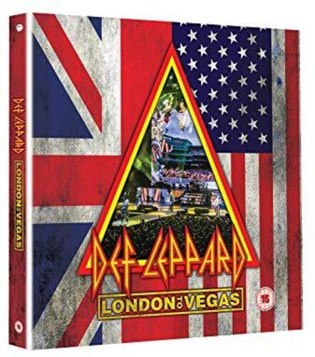 Def Leppard - London To Vegas Limited Edition, Boxed Deluxe Edition - 2 Blu rays + 4 Cds Importados  - Billbox Records