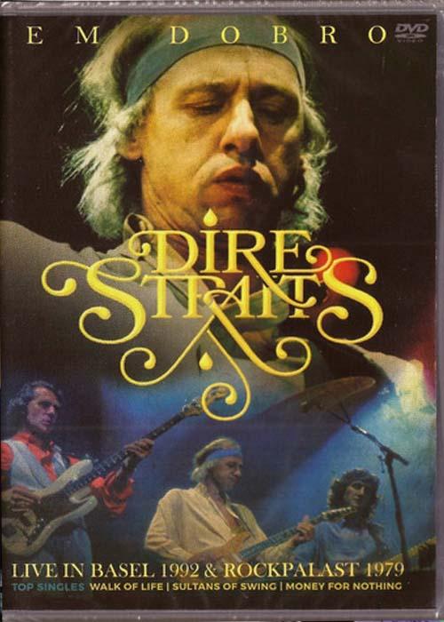 DIRE STRAITS EM DOBRO LIVE IN BASEL 1992 - ROCKPLAST 1979 - DVD NACIONAL  - Billbox Records