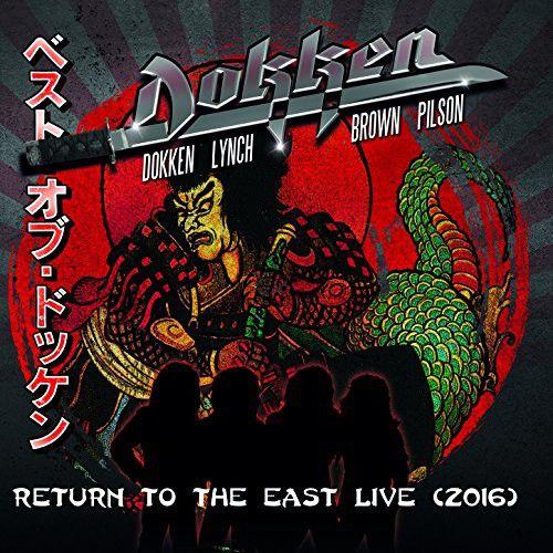 Dokken  Return To The East Live 2016 Cd+ Dvd Importado  - Billbox Records