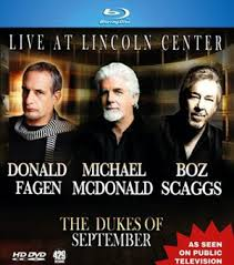 Dukes Of September - Live At Lincoln Center - Blu Ray  - Billbox Records