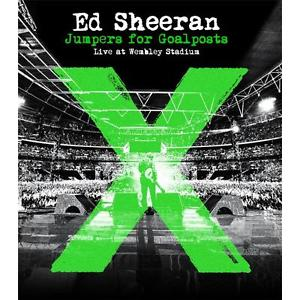 Ed Sheeran - Jumpers for Goalposts Live at Wembley Stadium - Blu ray - Billbox Records
