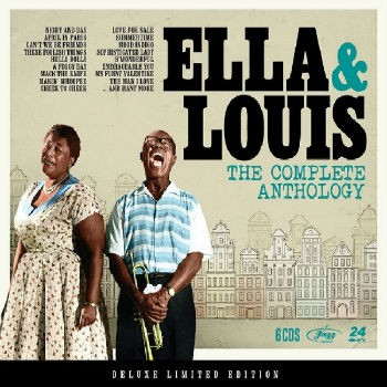 Ella & Louis - The Complete Anthology - Box com 6 CDs - Billbox Records
