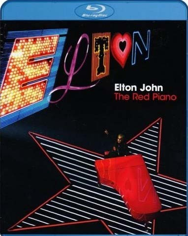 Elton John- The Red Piano - Blu Ray Importado  - Billbox Records