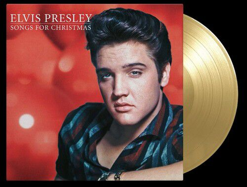 Elvis Presley Elvis For Christmas 180gm Gold Vinyl - Lp Importado  - Billbox Records