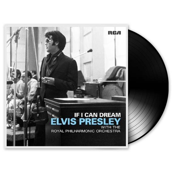 Elvis Presley  - If I Can Dream Royal  Philharmonic Orchestra Lp  - Billbox Records