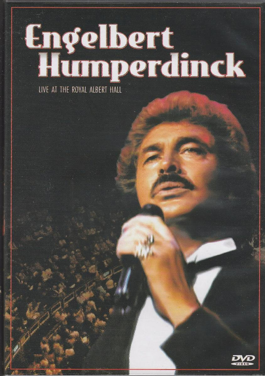 Engelbert Humperdinck- Live At The Royal Albert Hall - Dvd Nacional  - Billbox Records