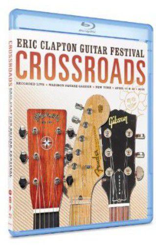 Eric Clapton - Crossroads Guitar Festival 2013 - Blu Ray Importado  - Billbox Records