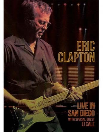 Eric Clapton - Live In San Diego With Special Guest JJ Cale - Blu ray Importado - Billbox Records
