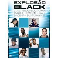 EXPLOSAO BLACK - DVD NACIONAL  - Billbox Records