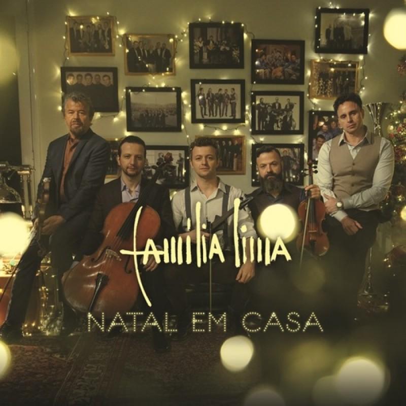 Família Lima Natal Em Casa - Cd Nacional  - Billbox Records