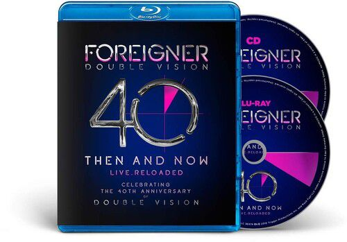 Foreigner  Double Vision Then And Now Cd + Blu Ray Importado  - Billbox Records