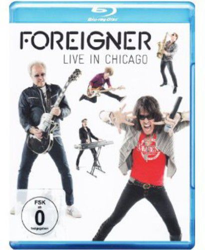 Foreigner - Live in Chicago 2011 - Blu ray Importado  - Billbox Records