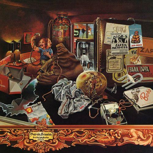 Frank Zappa Over-Nite Sensation - Lp Importado  - Billbox Records