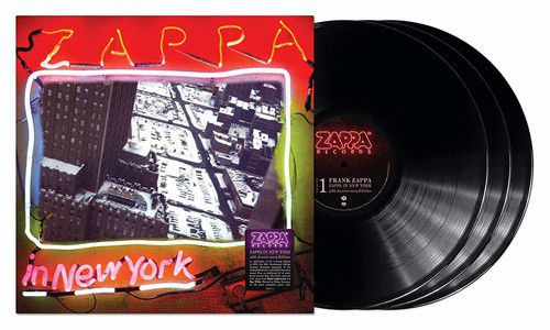 Frank Zappa - Zappa In New York (40th Anniversary) 180 Gram Vinyl, Anniversary Edition - 3 Lps Importados  - Billbox Records