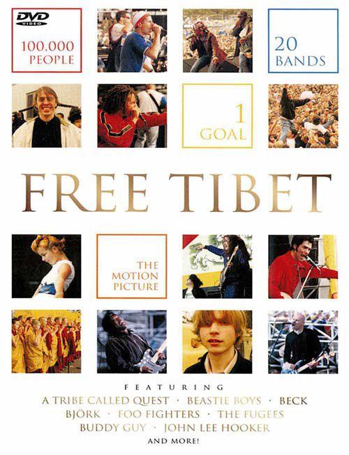 Free Tibet - Dvd Importado  - Billbox Records