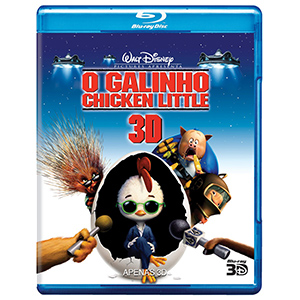 Galinho Chicken Little / Blu Ray 3d   - Billbox Records