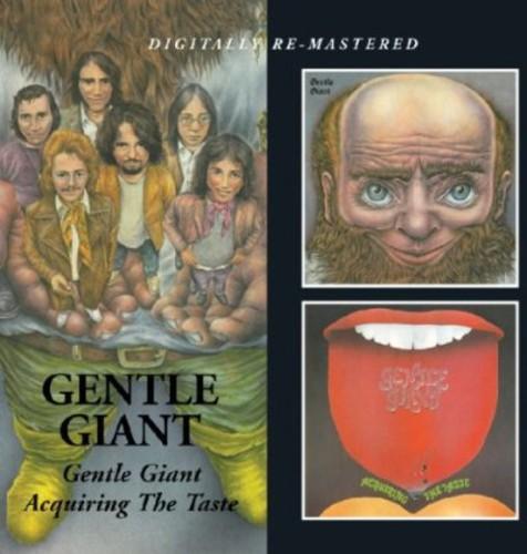 Gentle Giant - Gentle Giant / Acquiring the Taste [ - CD IMPORTADO  - Billbox Records