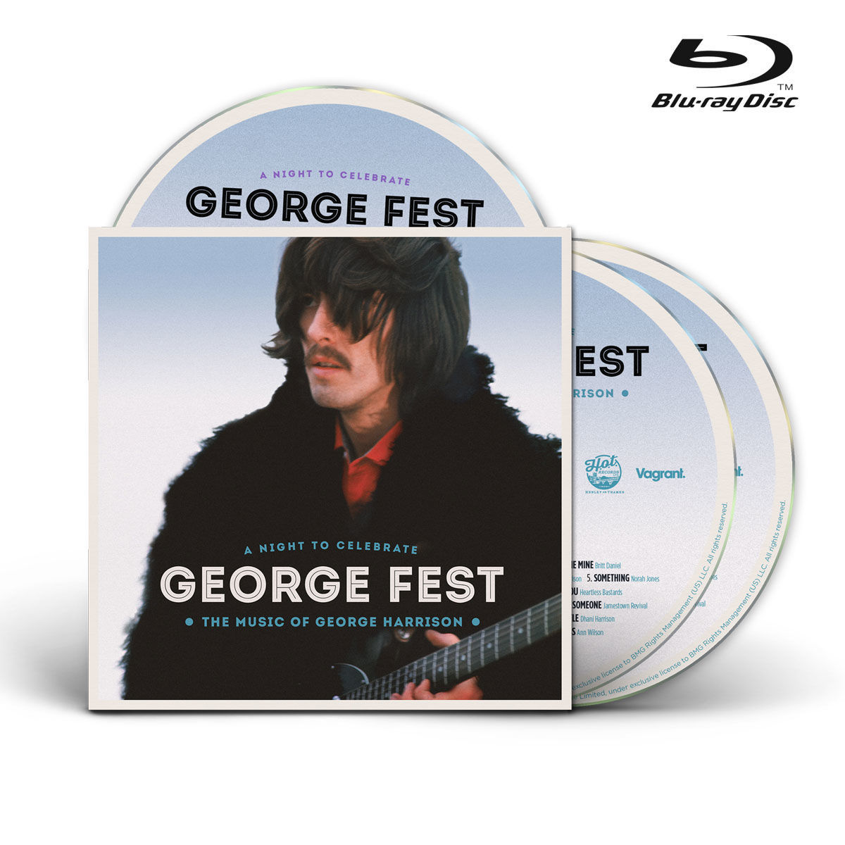 George Fest:A Night To Celebrate The Music Of George Harrison - Blu Ray + Cd  - Billbox Records
