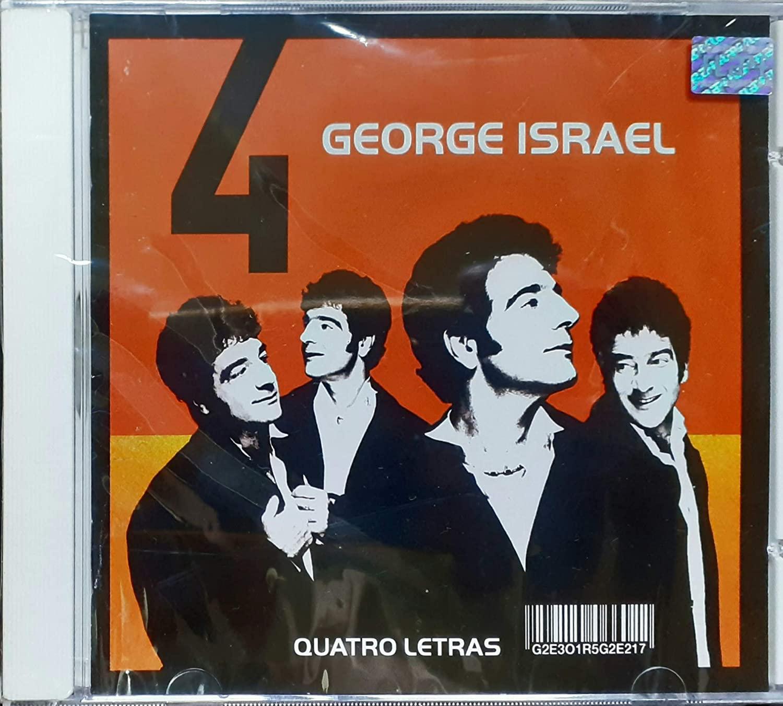 George Israel - Quatro Letras - Cd Nacional  - Billbox Records