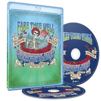 Grateful Dead - Fare Thee Well - Blu ray Importado  - Billbox Records