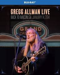 Gregg Allman Live - Back To Macon, Ga 2014 - Blu Ray Importado  - Billbox Records