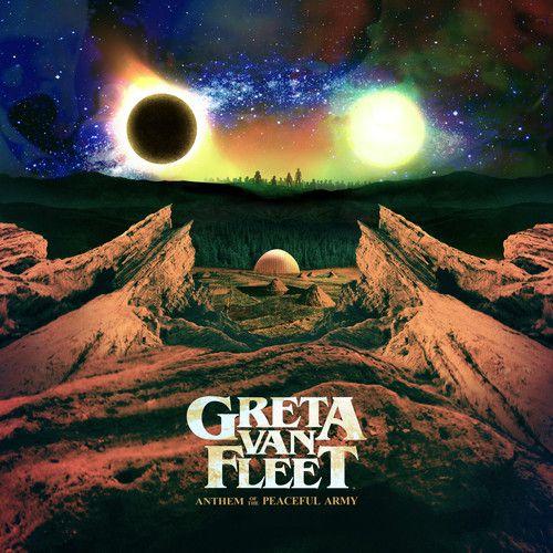 Greta Van Fleet Anthem Of The Peaceful Army With Booklet  - Cd Importado  - Billbox Records