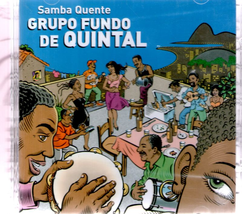 Grupo Fundo de Quintal - Samba Quente - Cd Nacional  - Billbox Records