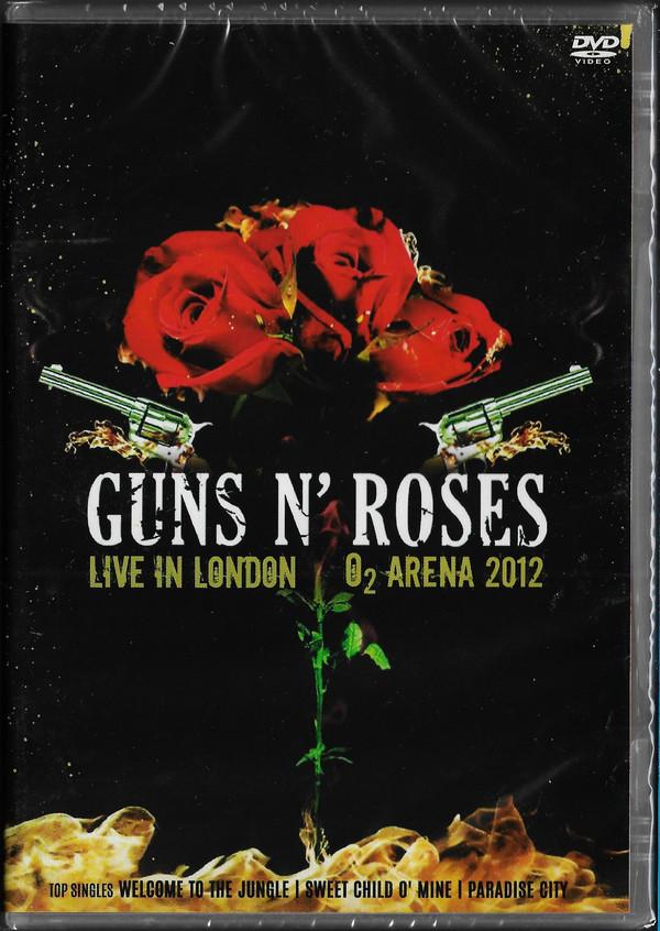 GUNS AND ROSES LIVE IN LONDON 2012 DVD NACIONAL  - Billbox Records
