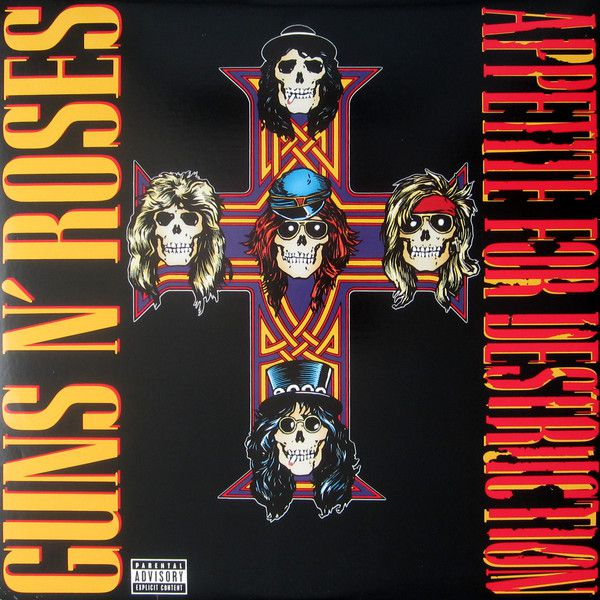 Guns N Roses - Appetite For Destruction - Vinil 180 Gramas - Lp Importado  - Billbox Records