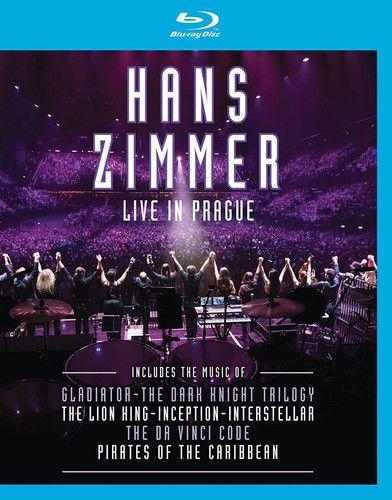 Hans Zimmer - Live In Prague - Blu Ray  Importado  - Billbox Records