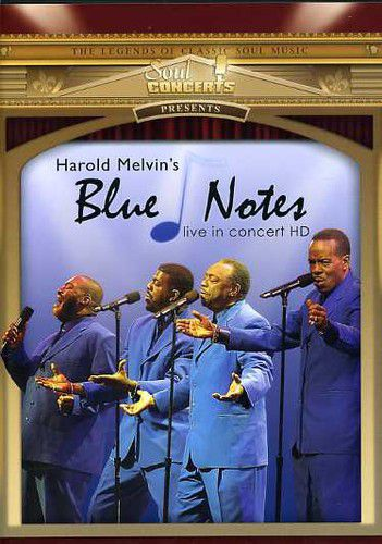 Harold Melvin & Bluenotes - Live In Concert - Dvd Importado  - Billbox Records