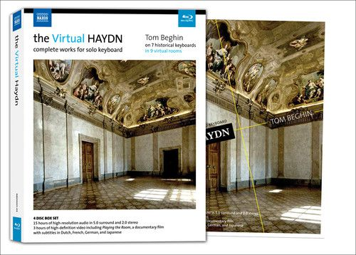 The Virtual Haydn Complete Works For Solo Keyboard - 4 Blu Rays Importados  - Billbox Records