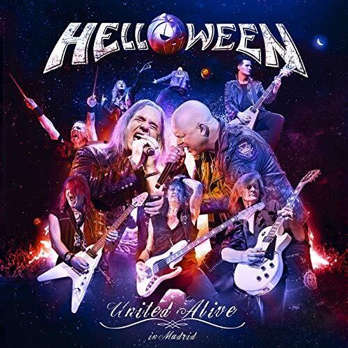 Helloween United Alive - Blu Ray Importado  - Billbox Records