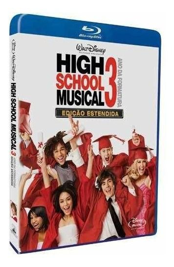 High School Music 3 - Blu Ray Nacional  - Billbox Records