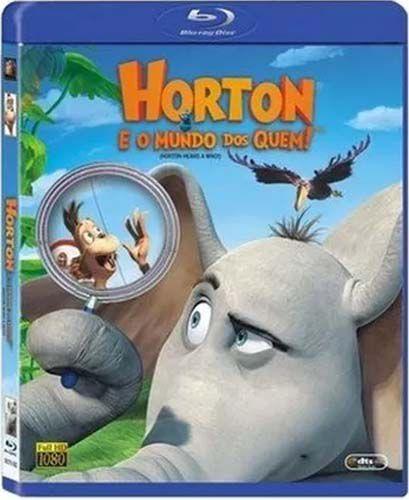 Horton e o Mundo dos Quem! - Blu Ray Nacional  - Billbox Records