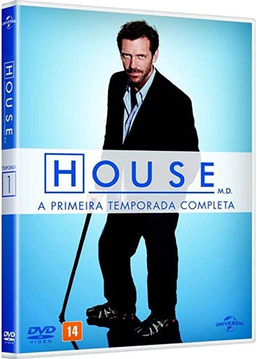 House - Primeira Temporada Completa - Box Dvd Nacional  - Billbox Records