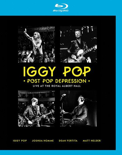 Iggy Pop - Post Pop Depression Live At The Royal Albert Hall -  2 Cds + Blu Ray Importados  - Billbox Records