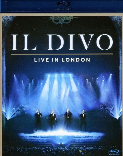 Il Divo - Live In London - Blu - Ray  - Billbox Records