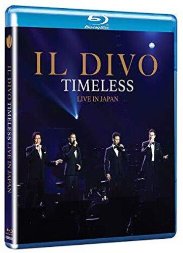 Il Divo  Timeless Live in Japan - Blu Ray Importado  - Billbox Records