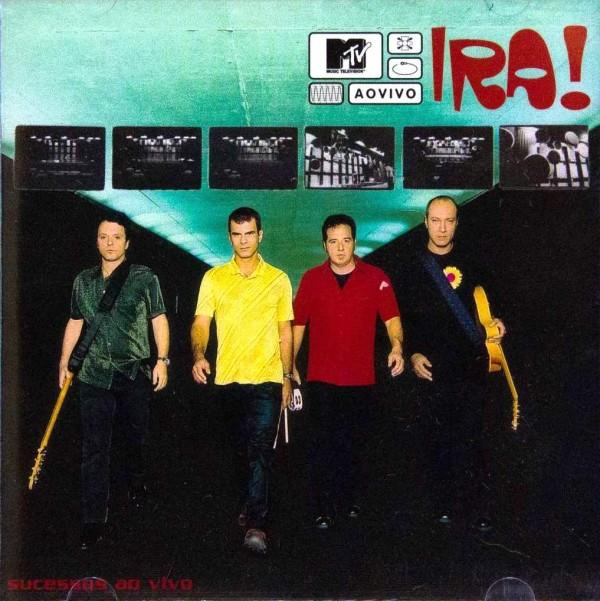 Ira - MTV Ao Vivo - Cd Nacional  - Billbox Records