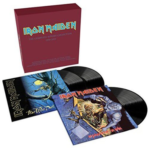 Iron Maiden - Collectors Box No Prayer For The Dying / Fear Of The Dark  - 3 Lps Importados  - Billbox Records